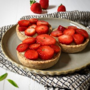 Tartelette fraise verveine