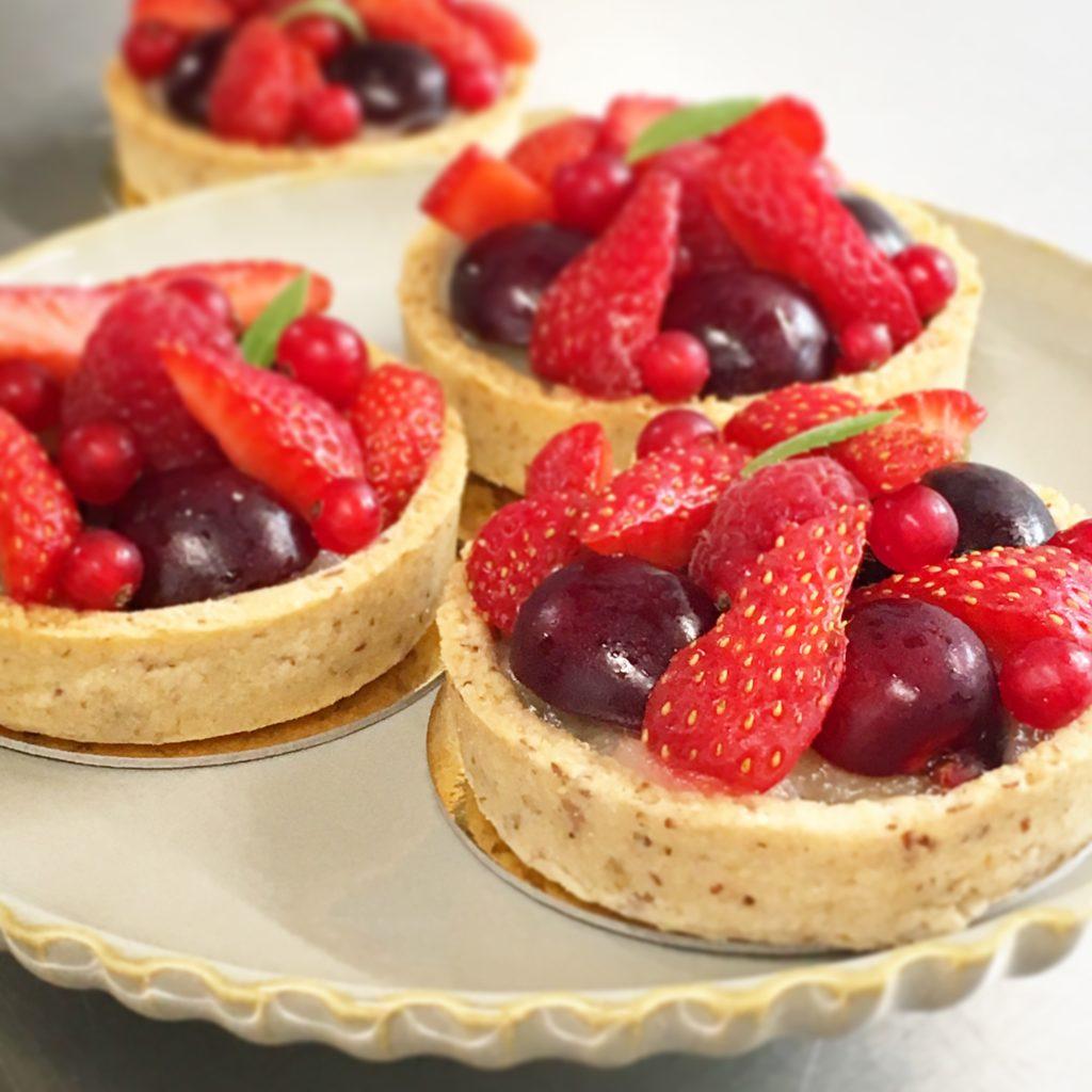 tartelette fruits rouges