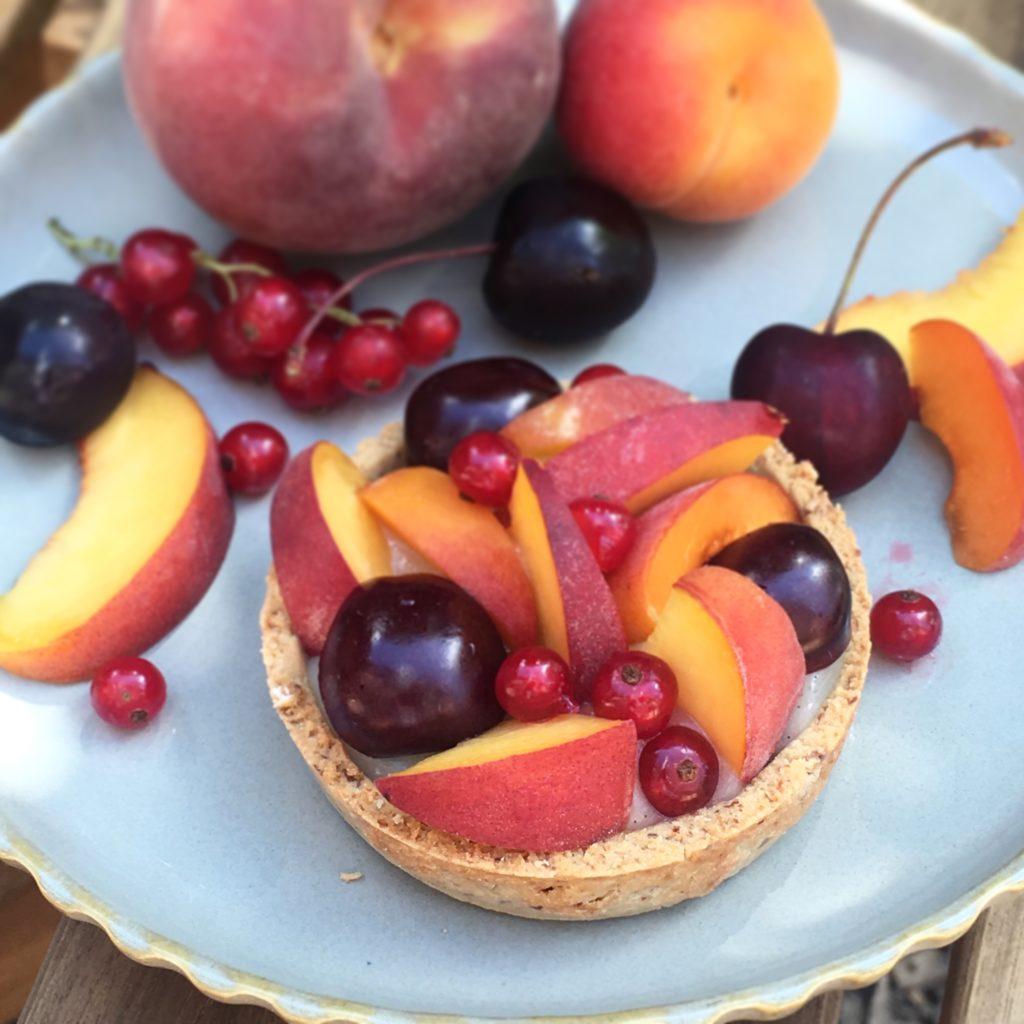 tartelette fruits d'été