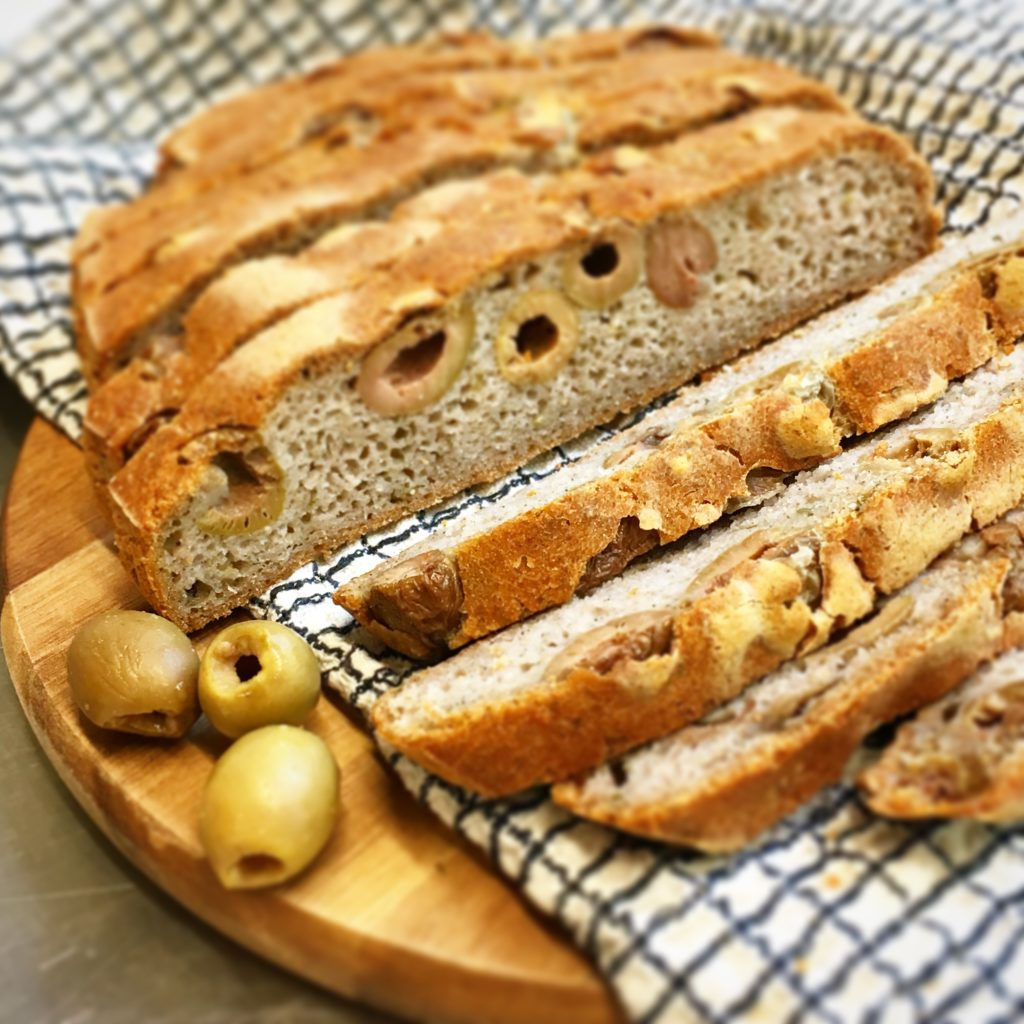pain olive et thym